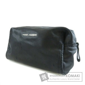 MARC BY MARC JACOBS ロゴ入り 化粧ポーチ ナイロン素材 レディース 【中古】【マークバイマークジェイコブス】