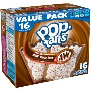 Kellogg's Pop Tarts Frosted A&W Root Beer ケロッグポップタルトA&W ルートビアー 期間限定商品 [並行輸入品]
