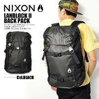 (ニクソン)NIXON公式 LANDLOCK II BACK PACK BLACK ONE