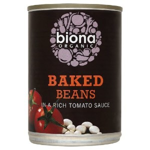 Biona Organic - Canned Baked Beans in Tomato Sauce - 400g