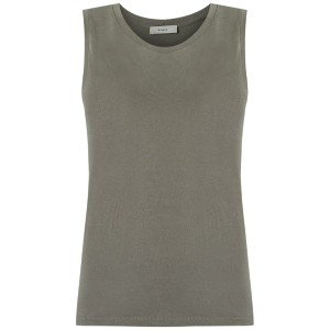 Egrey - round neck tank top - women - ビスコース - 36