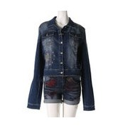 【SALE 50%OFF】デシグアル Desigual CHALE_BOLUXE (DENIM MEDIUM WASH)