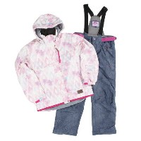 DREAM FLY LADYS SKI SUITS メンズ 上下セット スキーウエア DF-LS0115SET TAIBLC (Lady's)