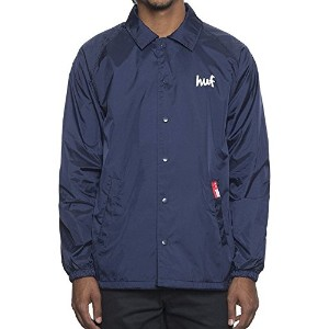 HUF X Chocolate Cop Coaches Jacket Navy L コーチジャケット 並行輸入品