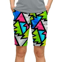 LoudMouth Ladies Crystal Bermuda Shorts【ゴルフ レディース>パンツ】