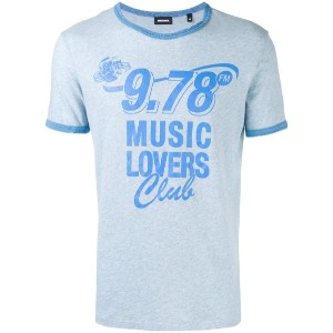 Diesel - Music Lovers Tシャツ - men - コットン - L