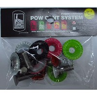 POWCANT SYSTEM パウカント ビス&ワッシャー [2度用ビス 8本入] UNION_DRAKE_SP_RIDE用