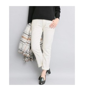 ROSSO Munich white denim slouch pants【アーバンリサーチ/URBAN RESEARCH デニム】