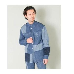 UR Maison Flaneur PATCHWORK SHIRTS【アーバンリサーチ/URBAN RESEARCH シャツ・ブラウス】