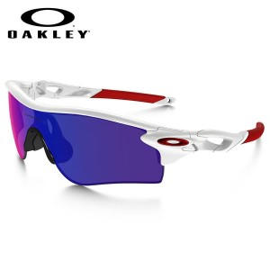 【OAKLEY】(オークリー) サングラス OO9206-10 RADARLOCK PATH ASIA FIT Polished White Positive Red Iridium...