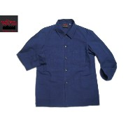 VETRA(ベトラ)/#4 MEN'S CANVAS COVERALL MADE IN FRANCE/marine