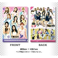 TWICE クリア フォルダー / ファイル (Clear Folder / File) [A4 SIZE] グッズ