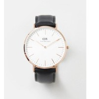 UR Daniel Wellington CLASSIC SHEFFIELD【アーバンリサーチ/URBAN RESEARCH メンズ 腕時計 BLACK ルミネ LUMINE】