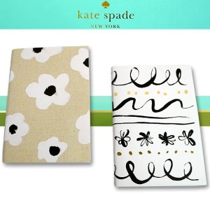 kate spade ケイトスペード 公認 ノートブックセット メモ帳 手帳 ノート A6サイズ 2冊セット 173332 DAISY PLACE AND FAYE FLORAL NOTEBOOK...