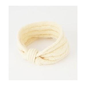 W.S:W/MOHAIR CABLE HAIR BAND【シップス/SHIPS その他(帽子)】