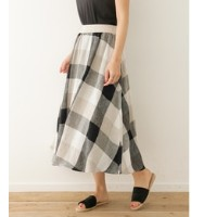 DOORS O'NEIL OF DUBLIN 別注 CHECK SWING SKIRT【アーバンリサーチ/URBAN RESEARCH スカート】