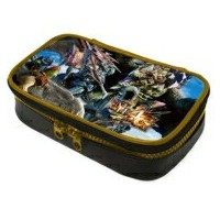 Game Accessory (Nintendo 3DS LL) / モンスターハンター4G ポーチ for ニンテンドー3DS LL 【GAME】