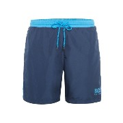 ヒューゴ ボス メンズ 水着 海パン【Hugo Boss Starfish Contrast Waistband Logo Short】Navy