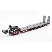 Membrey - Drake 2x8 Dolly and 7x8 Steerable Low Loader Trailer トレーラー /DRAKE 建設機械模型 工事車両 1/50 ミニチュア