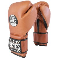 Cleto Reyes Special Edition Hook and Loop Boxing グローブ - 14 oz. - ヴィンテージ ブラウン (海外取寄せ品)