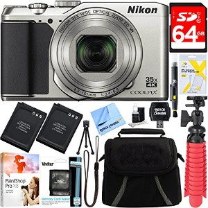 Nikon A900 20MP Longest スリム Zoom COOLPIX WiFi デジタル Camera with 4K UHD ビデオ 35x Telephoto NIKKOR Zoom...