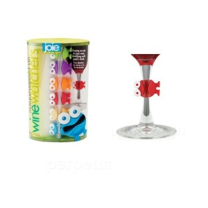 Joie/ Wine Watchers Cocktail and Wine Glass Charms (set of 6) パーティーで大活躍!!ワインウォッチャー カクテル & ワインチャーム...