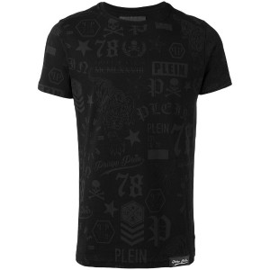 Philipp Plein - So Black Tシャツ - men - コットン - S