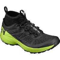 サロモン Salomon メンズ ランニング シューズ・靴【XA Enduro Trail Running Shoe】Black/Lime Green/Black