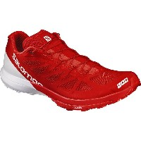 サロモン Salomon メンズ ランニング シューズ・靴【S-Lab Sense 6 Trail Running Shoe】Racing Red/White/White