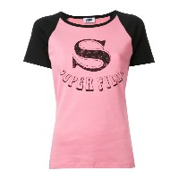 Sonia By Sonia Rykiel - Super Fille Tシャツ - women - コットン - L