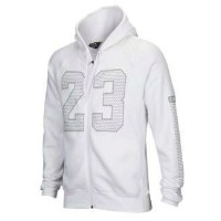 JORDAN FLIGHT FLASH 23 FULL ZIP HOODIEメンズ White/Reflective Silver パーカー ジョーダン フーディー