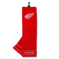 NHL Detroit レッド ウイングス Embroidered Towel by チーム Golf (海外取寄せ品)