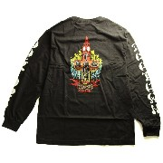 (ドッグタウン)Dogtown Skateboards ロンT ロングTシャツ 長袖 Ben Schroeder Re-Issue LONG SLEEVE T-Shirt XLサイズ Black...