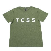 """TCSS (ティーシーエスエス) TCSS """"TRUSTY TEE"""" SFT1602 Tシャツ 半袖 T-shirt (M) FATIGUE MARLE"""