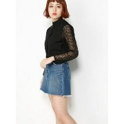 SLY CLASSIC LACE BLOUSE スライ【送料無料】