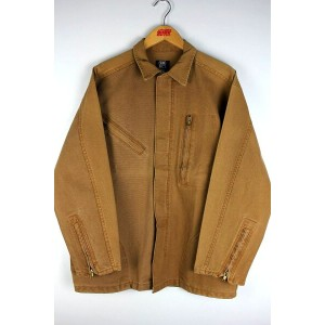 GUNG HO (ガンホー) / COTTON CANVAS WORK JACKET (コットンキャンバスワークジャケット) / washed brown