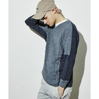 【attack the mind 7】NB045-PN01-Dolman sleeve pullover Two tone