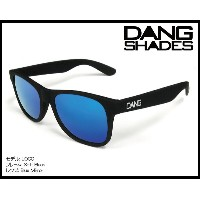 DANG SHADES LOCO Black Soft x Blue Mirror Wht Logo vidg00098 ミラーレンズ トイサングラス