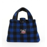 JOHNSON WOOLEN MILLS:BITTY BAG(BLUE)【シップス/SHIPS ハンドバッグ】