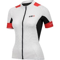 LOUIS GARNEAU(ルイガノ) W`S PERFORMANCE CARBON JERSEY 1020678XS230 WHITE/BLACK/RED XS