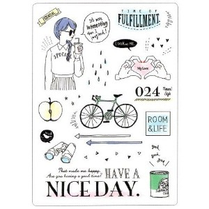 HAVE A NICE DAY よい一日を! / 下敷き 86342