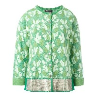 Twin-Set floral pattern fitted jacket