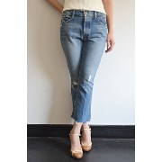 MOTHER(マザー)/THE NOMAD CROP FRAY JEANS
