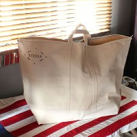 【STEELE NATURAL CANVAS TOTEBAG 180 Large】スティールキャンバス トートバッグ バッグ USA ■ 送料無料■ あす楽