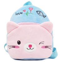 Zhhlinyuan Baby Children Cartoon Plush Kindergarten Kids Shoulder バッグ Backpack Cute School バッグ