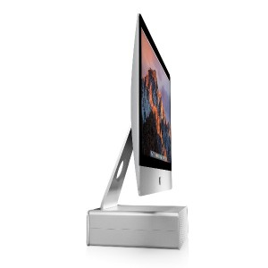 Twelve South HiRise Adjustable Stand with Hidden Storage for Apple Mac Display