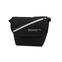 (マンハッタンポーテージ)ManhattanPortage Reflector&Zipper Casual Messenger Bag(S)MP1605JRRZ (Black)