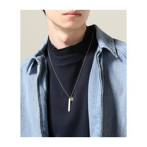 German Silver Pattern Top Neckless Plain【ジャーナルスタンダード/JOURNAL STANDARD ネックレス】