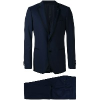 Lardini contrasting piping two-piece suit