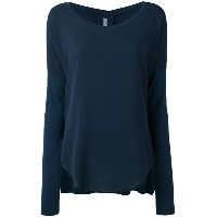Kristensen Du Nord - long sleeve T-shirt - women - シルク/コットン/スパンデックス - 0